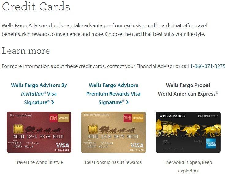 [Expirer]Wells Fargo Propel World Now Listed On Wells Fargo Advisor Website, Still Available For ...