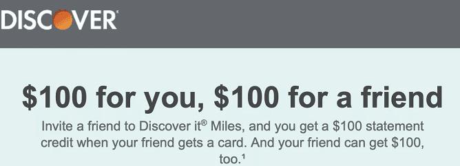 Discover it Miles Now Offering A $8 Referral Bonus + Double Cash